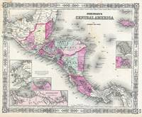 Vintage Map of Central America (1864)