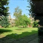 """""""College Garden in Summer, Cambridge, England"""" by PriscillaTurner"""