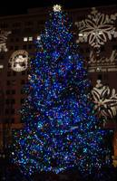 Portland Pioneer Courthouse Square Christmas Tree