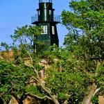 """Fort Jefferson Lighthouse"" by Lorraine_Sommer"