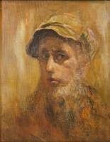 A man in a cap or Self-portrait.