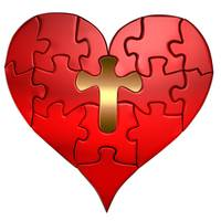 heart puzzle orthographic