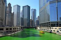Irish day in Chicago