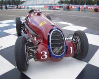 1935 Alfa Romeo Grand Prix Race Car