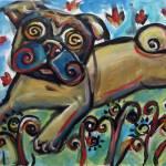 """pughug"" by artbyangie"