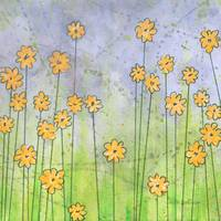 Whimsy Yellow Flowers