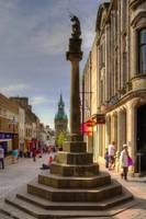 Mercat Cross and City Chambers