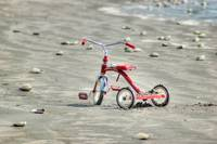 Beached Radio Flyer