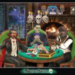 """Monster Poker"" by HolbrookArt"