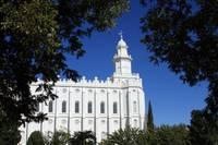St. George Utah LDS Temple I by David Kocherhans