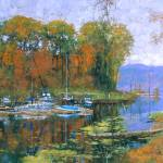 """Lake Champlain, Vermont"" by CMDudash"