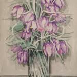 """Fritillaria meleagris 2"" by maja_radocaj"