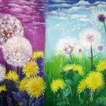 """""""dandelions duet"""" by zhenlian"""
