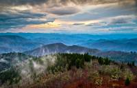 Blue Ridge Parkway Scenic Landscape Photography -