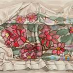 """Flowers on a cloth"" by maja_radocaj"