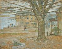 November, Cos Cob by Childe Hassam