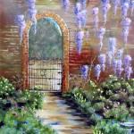 """Old Garden Gateway"" by rileygeddings"
