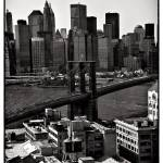 """Brooklyn Bridge in Sepia"" by madeline"