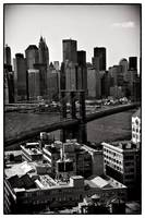 Brooklyn Bridge in Sepia