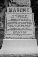 Monument to Mahone bw