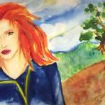 """Redhead woman"" by Antxx"
