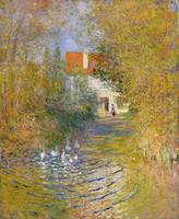 The Duck Pond by Claude Monet