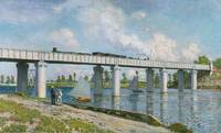Railway Bridge at Argenteuil by C. Monet
