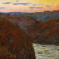 """La Creuse Sunset by Claude Monet"" by The Fine Art Masters"