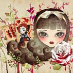 """""""Hidden Garden"""" by sandygrafik_arts"""