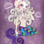 """Amethyste Mermaid"" by sandygrafik_arts"