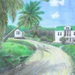 """Cayman Brac Island Landscapes"" by monteleethornton"