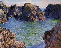 Port-Goulphar, Belle-Ile, Brittany by Claude Monet