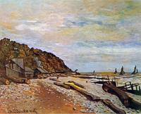 Boatyard near Honfleur by Claude Monet