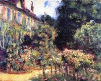 Giverny, the house from the garden by Claude Monet