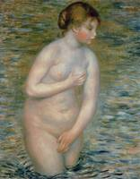 Nude in the Water by Pierre Auguste Renoire