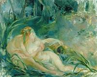 Jupiter and Callisto by Berthe Morisot