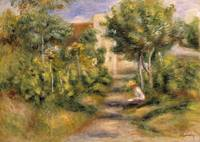The Painter's Garden, Cagnes by Pierre Renoire