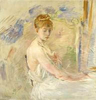 Young Girl Getting Up by Berthe Morisot