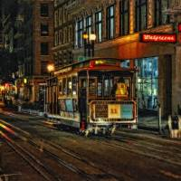 San Francisco Cable Cars Art Prints & Posters by Vladimir Rayzman