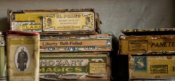 Cigar Boxes, Boone Store