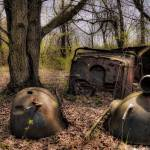 """Rusty Car, HLG, Tipton, MI"" by ZeipekisPhotography"
