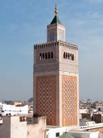 Minaret of the Mosqée El-Zitouna