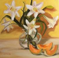 Lilies and Melon