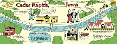 Cedar Rapids, Iowa by Krista Genovese