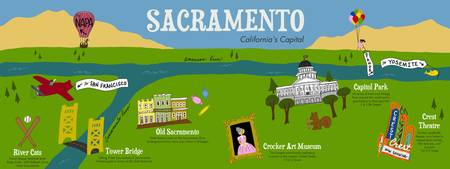 Sacramento, California by Tina Jett