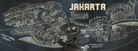 Jakarta, Indonesia by Anang Fajar Alam