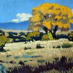 """Golden Foothills Cottonwood in the Fall"" by KenGreen"