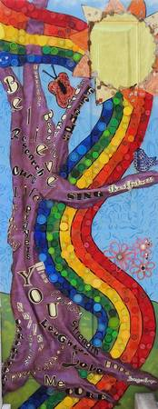 Rainbows and tree of hope