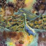 """Mr Blue Heron"" by garlandoldham"