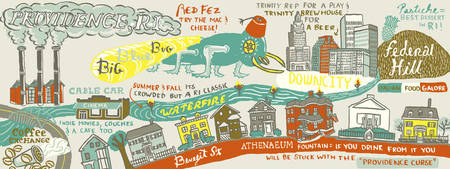 Providence, Rhode Island by Jessica Pollak